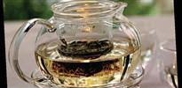 Meditasyon çayı restoranlarda
