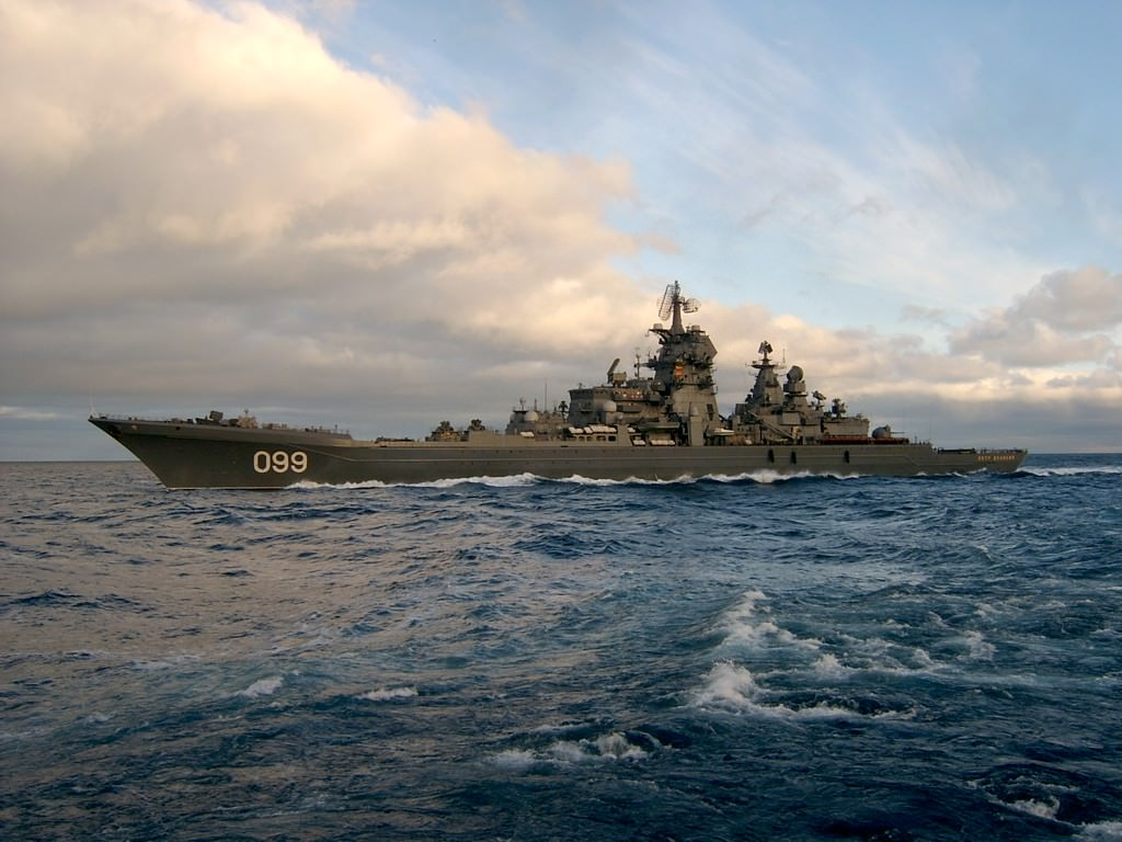Rus savaş gemisi yolda!