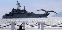 Rus savaş gemisi boğazda durduruldu