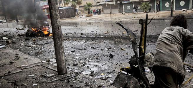 Suriye iç savaşı 2 yaşında