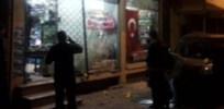 Türk bayraklı dükkana bomba