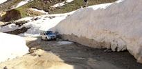Bitlis'te 5 metre kar var