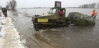 Macaristan'da nehir taştı