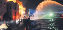 Galatasaray yangını elektrik kontağından