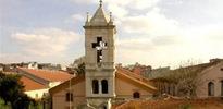 Ermeni kilisesine saldırı