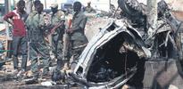 Somali'de Katar heyetine bomba