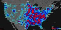 Twitter 'nefret haritası'