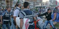 İzmir'de çadırlara şafak baskını