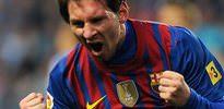 Messi'den şok görüntüler