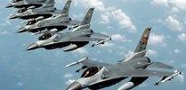 F-16'lar havalandı