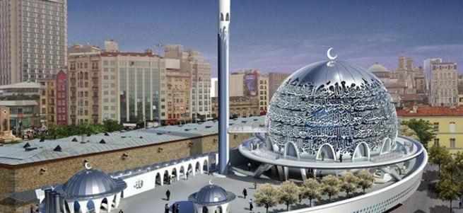 ��te Taksim'e yap�lmas� planlanan cami