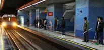 Ankara metrosunda mucize