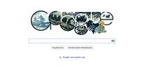 Google'dan Dian Fossey doodle'ı