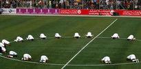 Filistin'de futbol bayramı