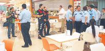 Polisin acılı pizza cinneti