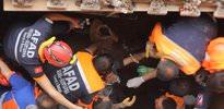 Göçükte mahsur kalan 9 işçi kurtarıldı