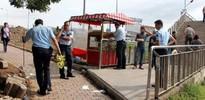 Metrobüs üst geçidinde silahlı saldırı