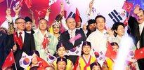Topbaş'a Güney Kore Devlet Nişanı verildi