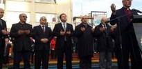 CHP''li başkandan papaz eşliğinde dua