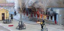 İsveç'te cami yaktılar