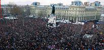 Paris'te ki dev yürüyüş