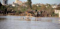 Gazze'yi sular altında bıraktılar