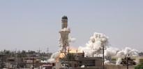 Terör örgütü Musul'da Osmanlı'dan kalma camiyi havaya uçurdu