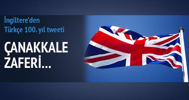 İngiliz Büyükelçisi'nin Çanakkale tweeti