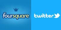 Twitter ve Foursquare anlaştı