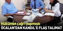 Hükümetin çağrısı sonrası Öcalan Kandil'e talimatı verdi