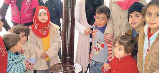 Çocuklarımız Türkiye sayesinde hayatta