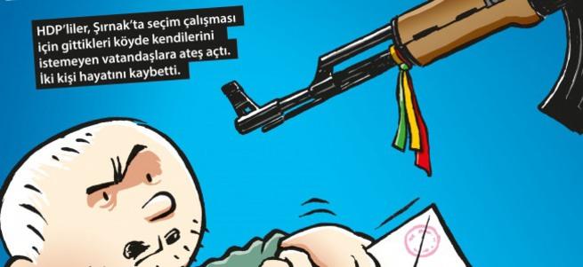 Hacamat'tan HDP'ye müthiş kapak!