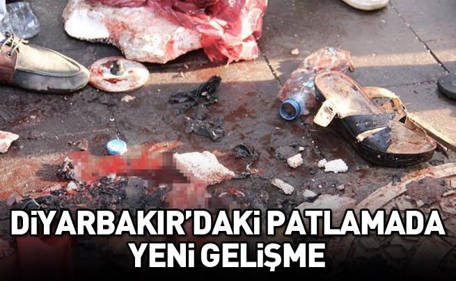 Diyarbakır'daki patlayıcının türü ve saldırganın parmak izi belli oldu!