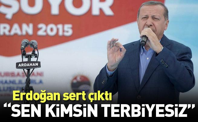 Cumhurbaşkanı Erdoğan Ardahan'da konuşuyor