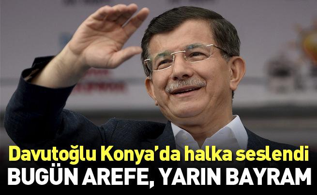 Başbakan Ahmet Davutoğlu Konya'da