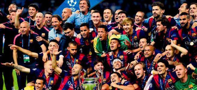 Avrupa'nın kralı Barcelona