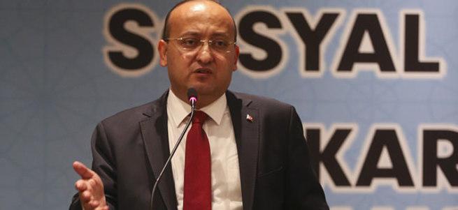 Başbakan Yardımcısı Akdoğan: Madem yüzde 13 oy aldılar...