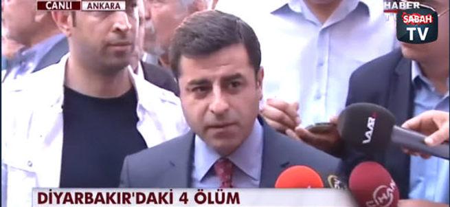 Demirtaş: MHP bize yakın durursa şeref kazanır
