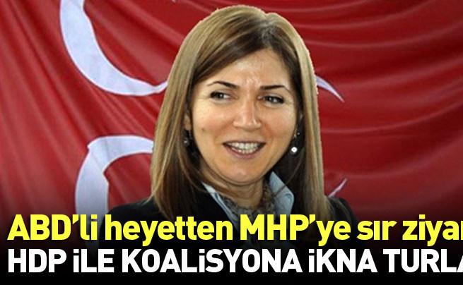 ABD'li heyetten MHP'ye sır ziyaret