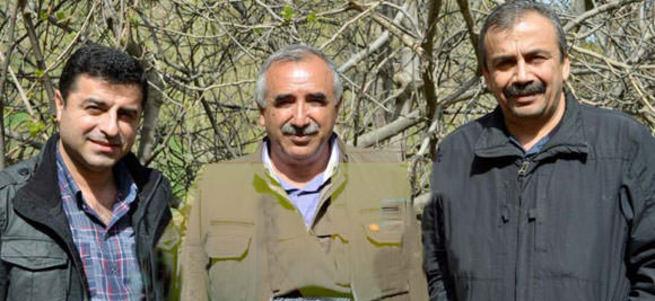Kandil Demirtaş'a resti çekti