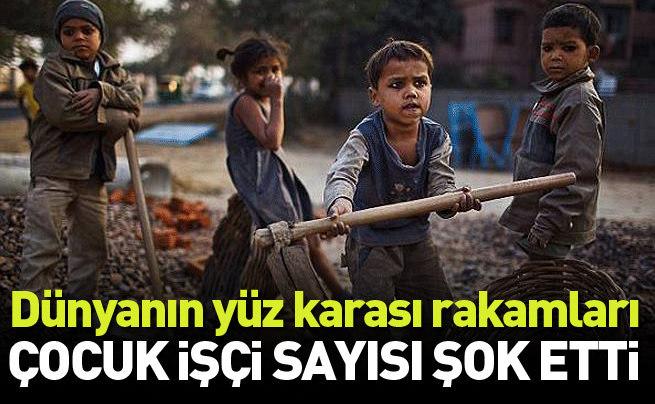 Dünya genelinde 168 milyon çocuk işçi çalışıyor