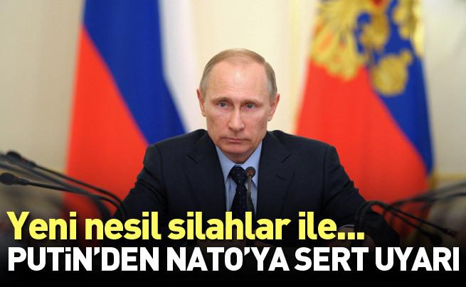 Putin'den NATO'ya sert uyarı