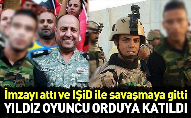 Yıldız futbolcu IŞİD'e karşı savaşacak