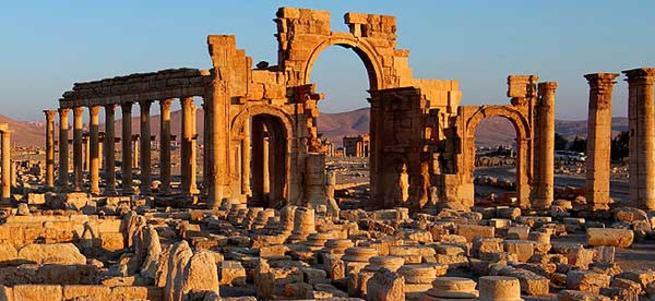 DEAŞ antik kente mayın döşedi