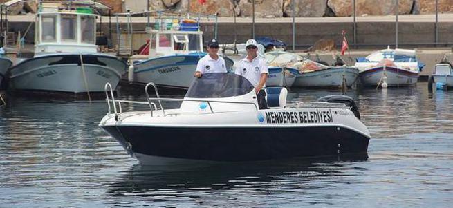 Zabıtalar atık denizede de görev yapacak