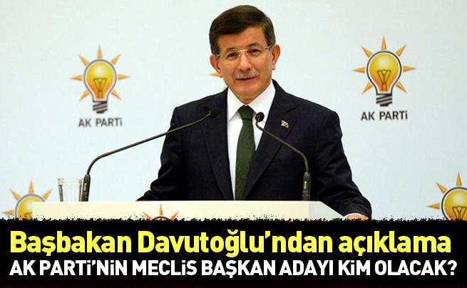 AK Parti Meclis Başkan adayını bugün açıklayacak