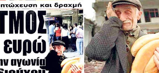 Eşref amcanın fotoğrafını kullandılar