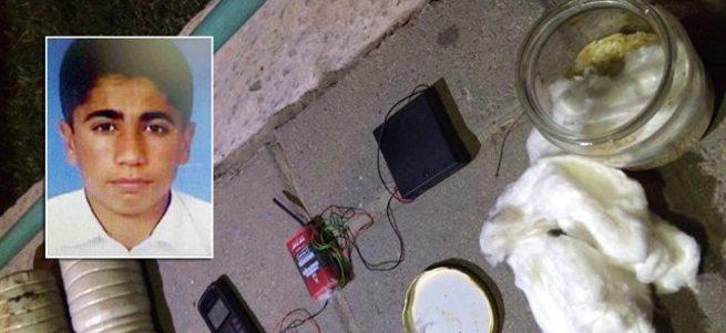 PKK bombacısı eyleme giderken yakalandı
