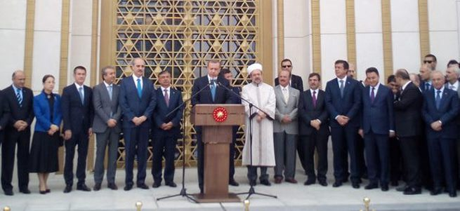 Erdoğan Beştepe Millet Camii'ni açtı