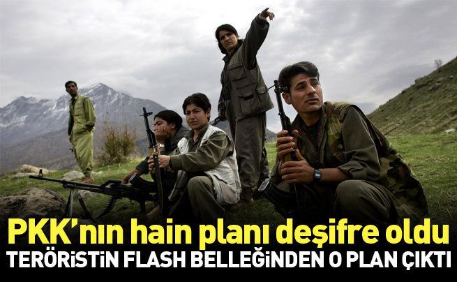 Öldürülen teröristin flash belleğinden PKK'nın kaçırdığı çocuklar çıktı